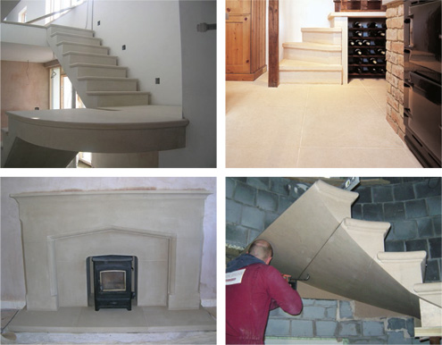 Internal Flooring, Fireplaces & Staircases