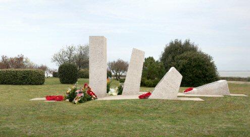 Frankton Memorial Portland stone memorial, France